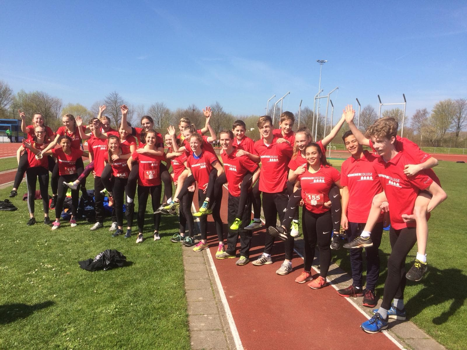 Kennemer College naar Olympic Moves